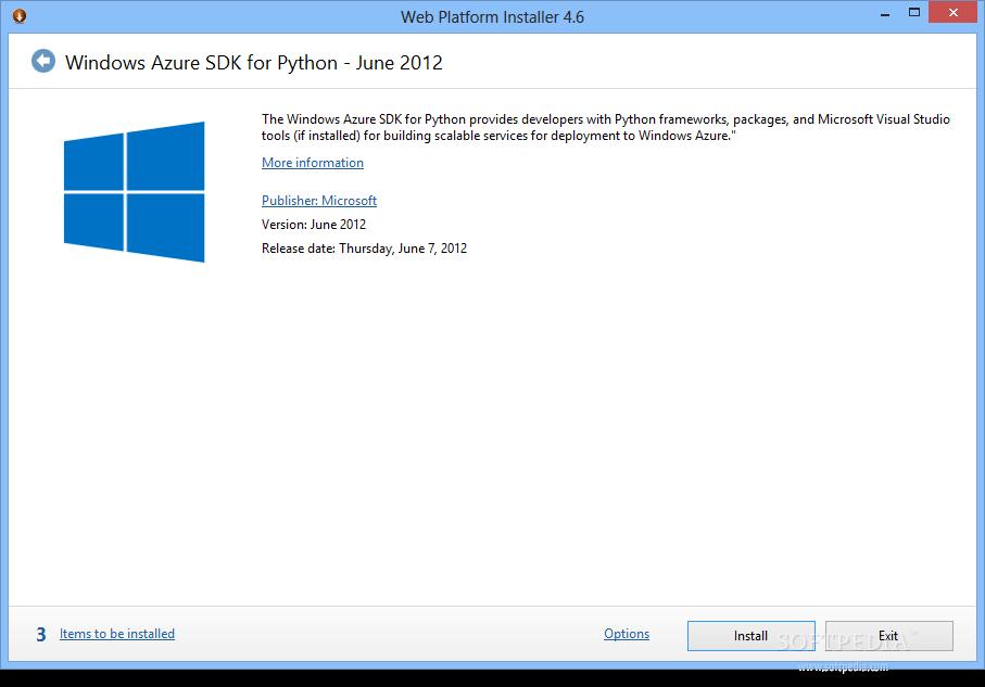 Download Windows Azure SDK for Python June 2012