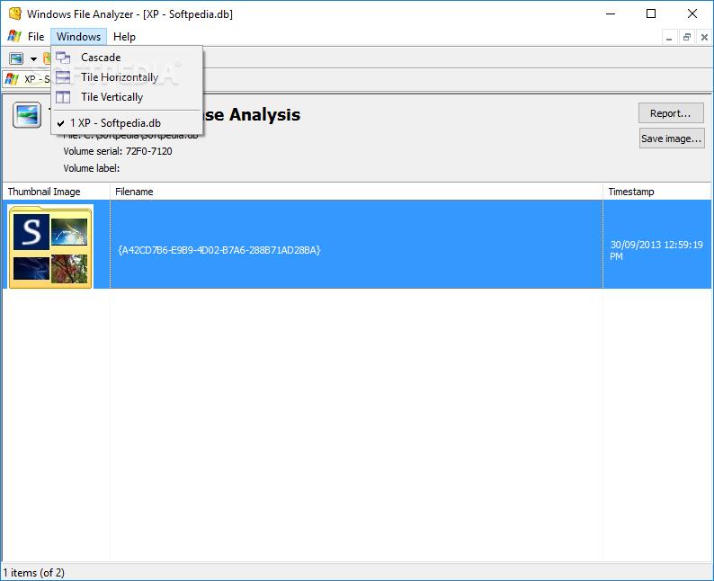 Windows File Analyzer screenshot #4
