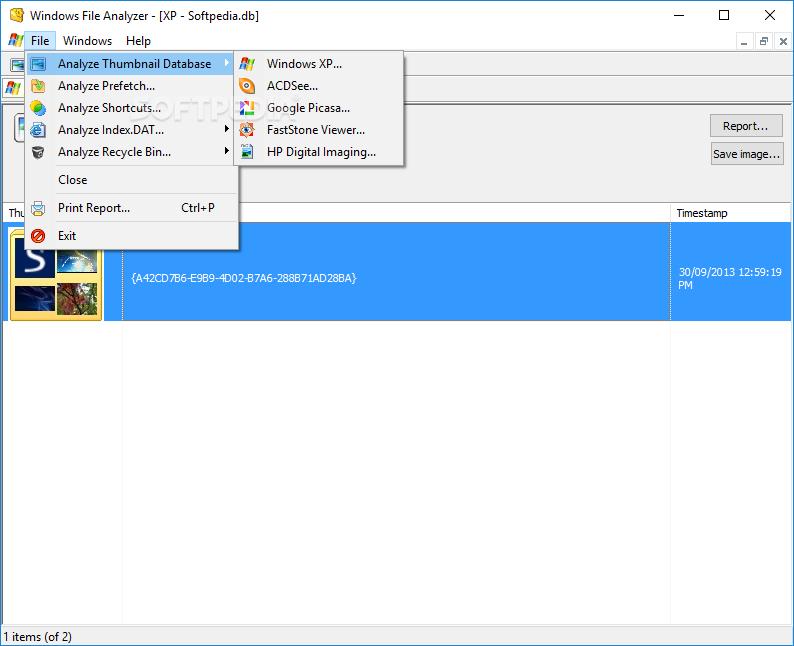 Download Windows File Analyzer 2 8 0 0