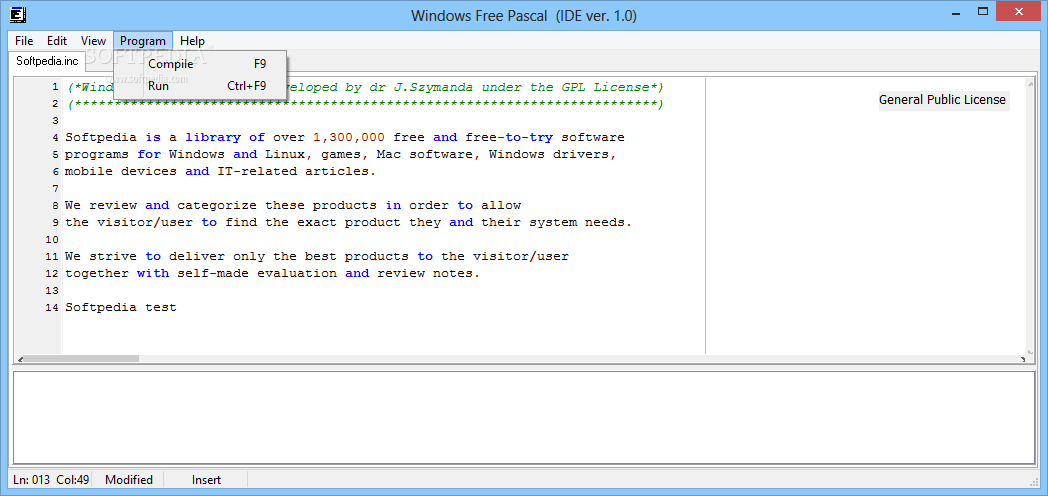 Windows Free Pascal Ide Download