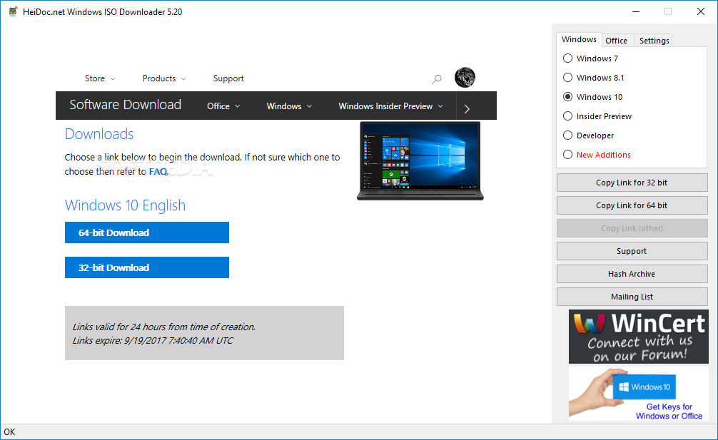 Download Windows and Office ISO Downloader 8 21