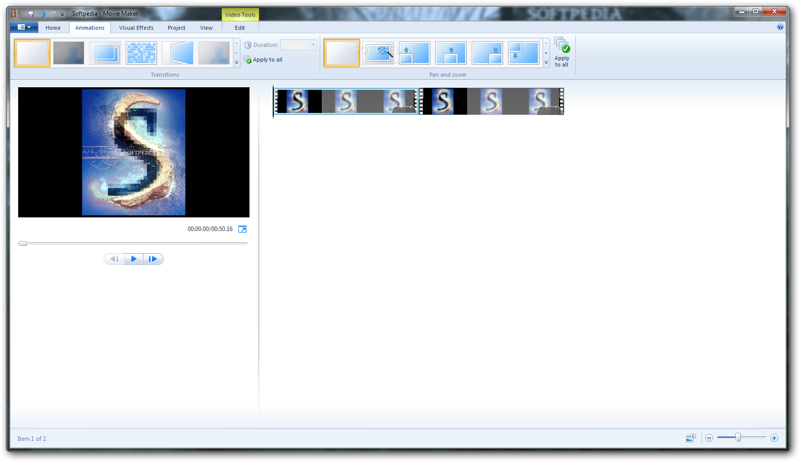 Windows Live Movie Maker screenshot 3