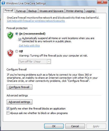 onecare cleanup exe download