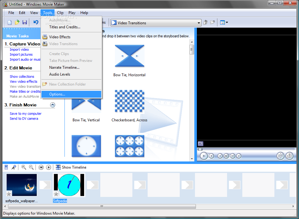 Free download of window movie maker software