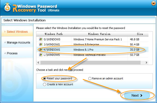 password recovery for windows 7 home premium
