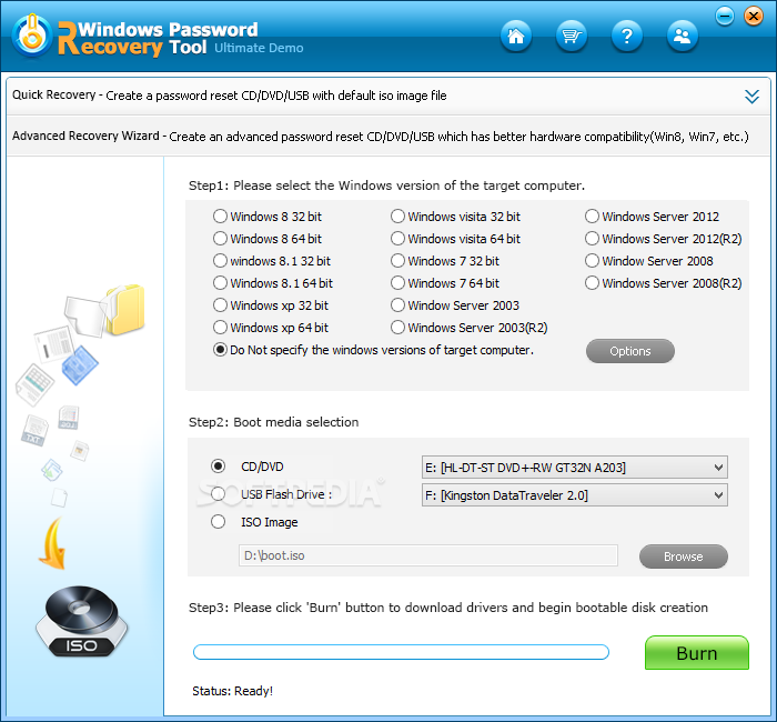 windows password recovery tool ultimate full