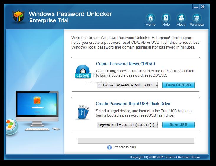 windows password reset usb full version