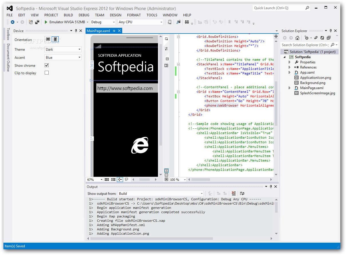 Download Windows Phone SDK 8 0 / 7 8