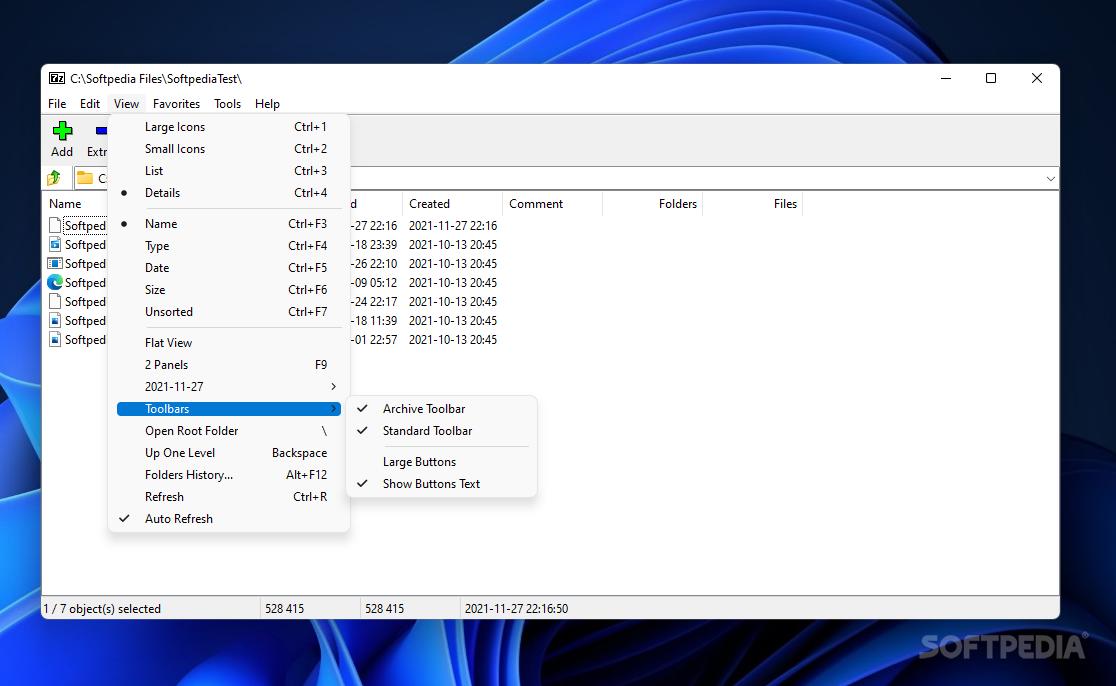 7 zip portable 64 bit download