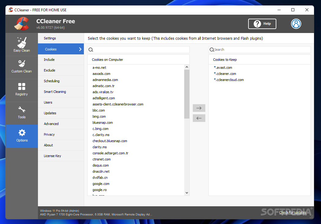 ccleaner portable free download italiano
