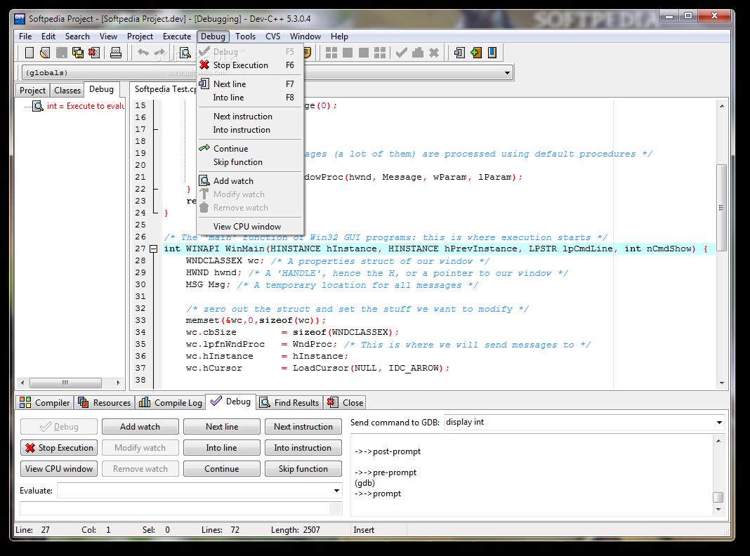 dev c++ 5.11 0 free download