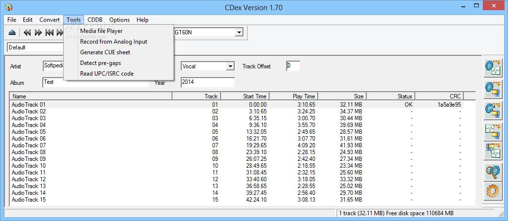 cdex 64 bits gratuit