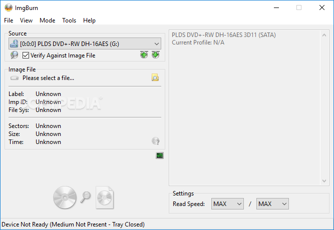 Download Portable ImgBurn 2 5 8 0