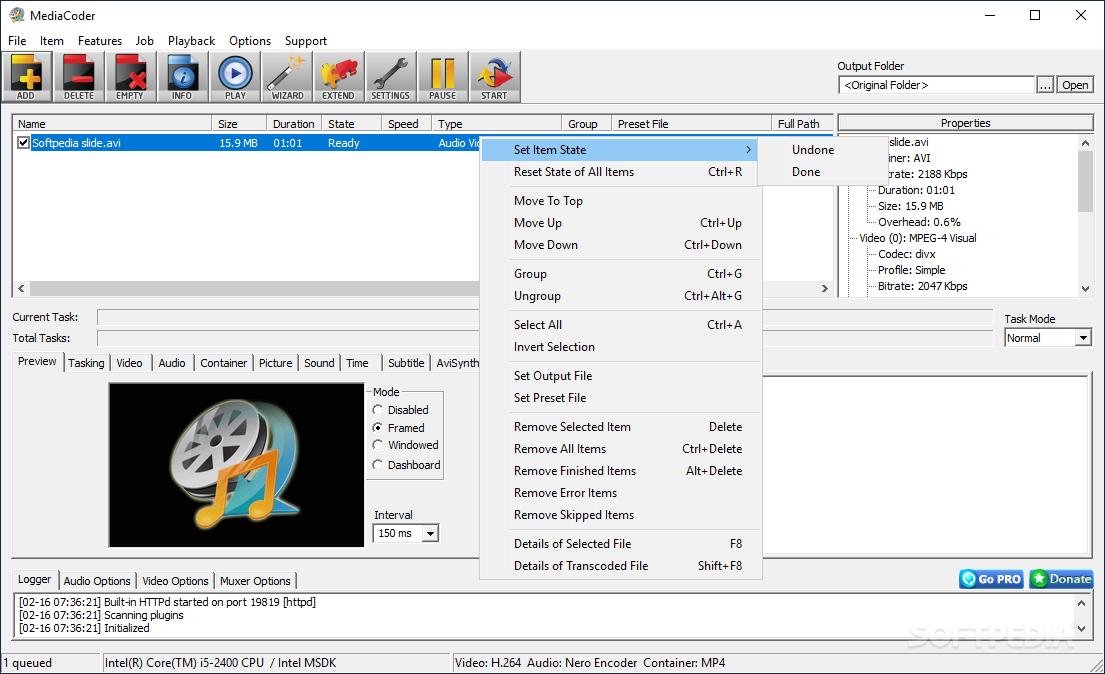 mediacoder 0.8