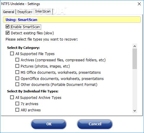 Download Portable NTFS Undelete 0 9 3