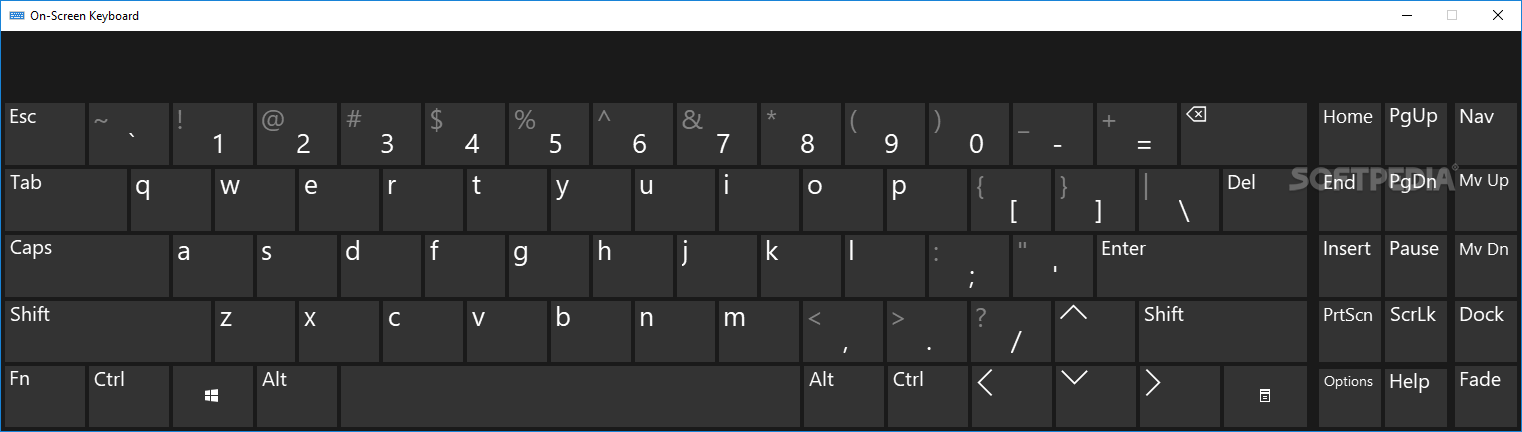 Download Portable On Screen Keyboard 2 1