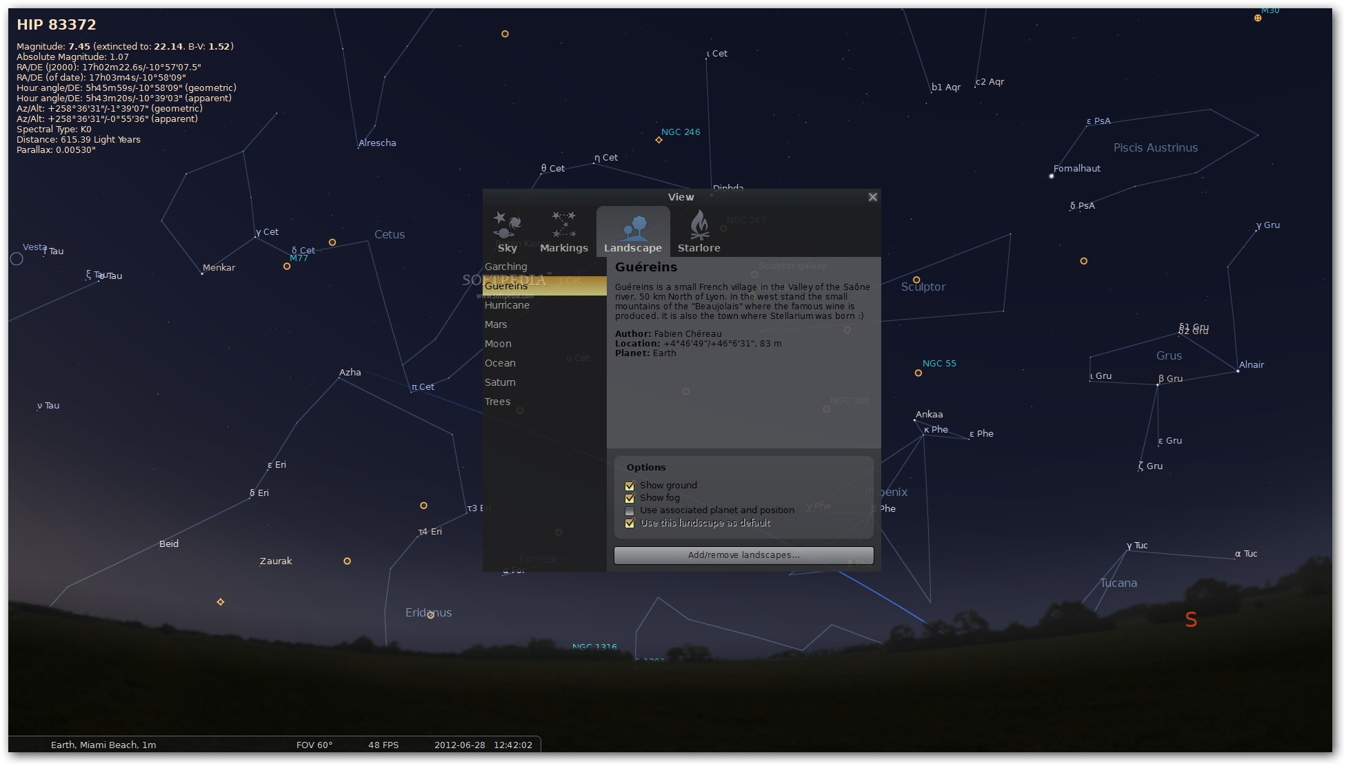 Download Portable Stellarium 0 19 1 1