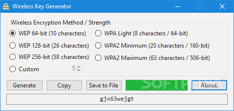 key generator for all applications