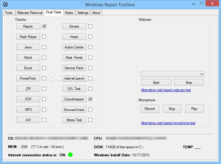 tweak windows repair