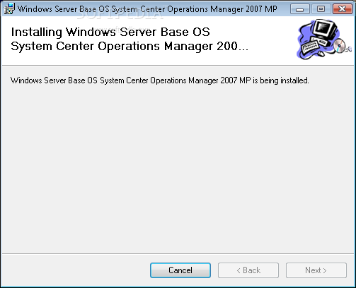 Download Windows Server Operating System Management Pack for