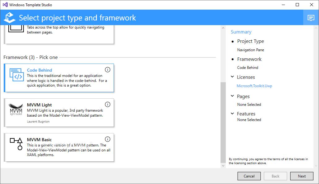 Download Windows Template Studio 3 1 19120 01