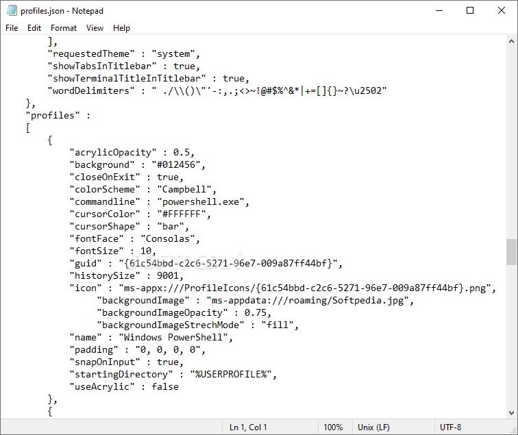 Download Windows Terminal 0 4 2382 0 Preview