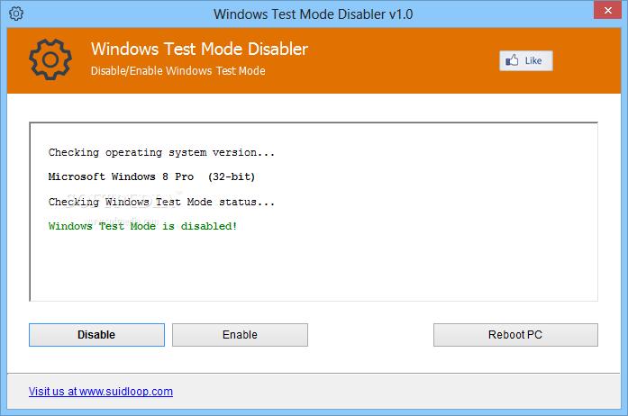 Download Windows Test Mode Disabler 1 0