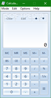 Download Windows7 Calculator