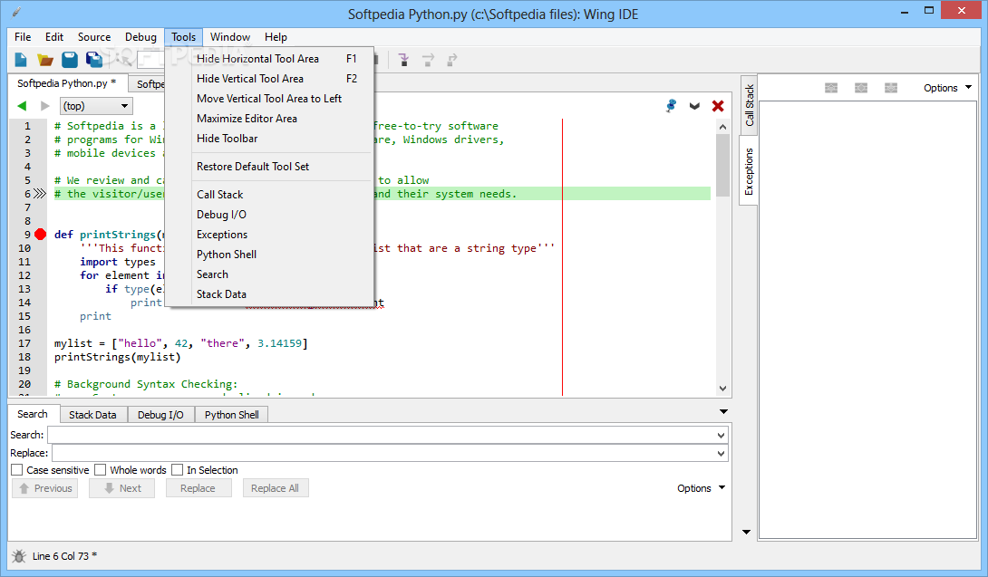 Download Wing IDE 101 7 1 0 2