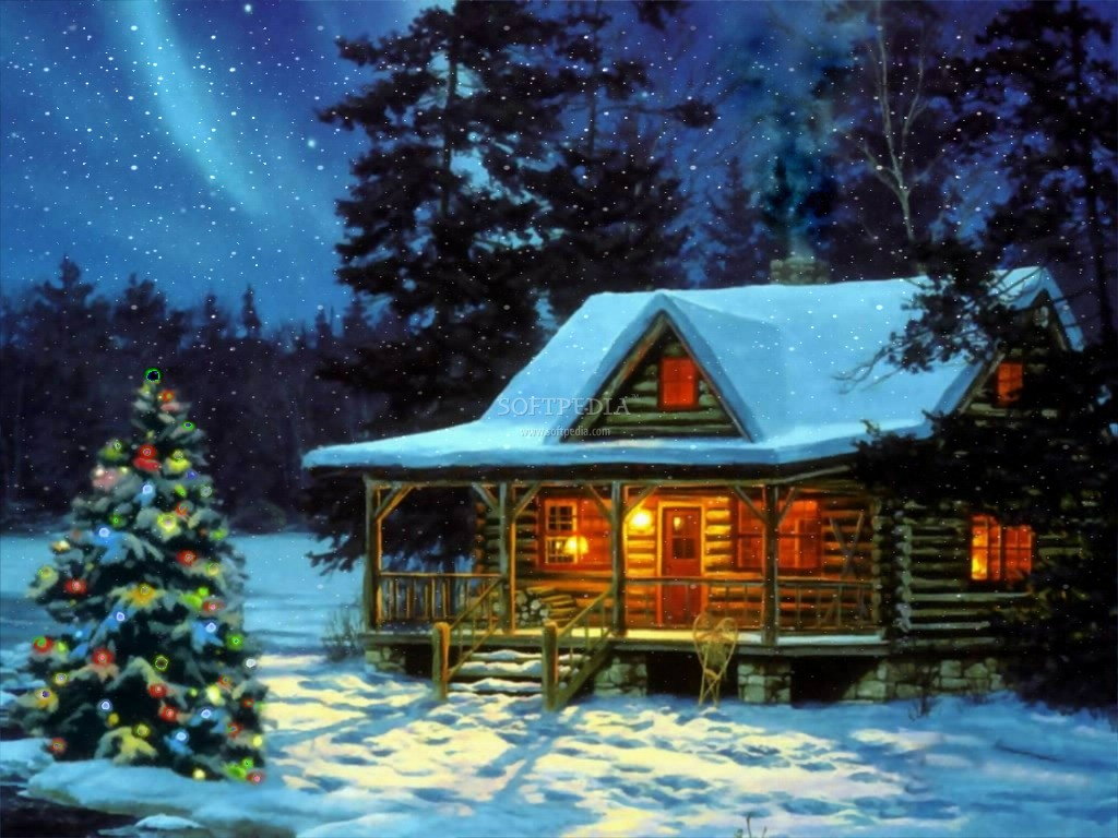 Winter Evening Screensaver - This is the image displayed by Winter ...