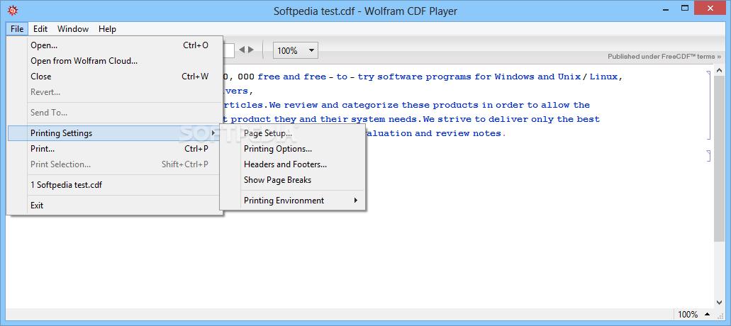 Download Wolfram CDF Player 11...