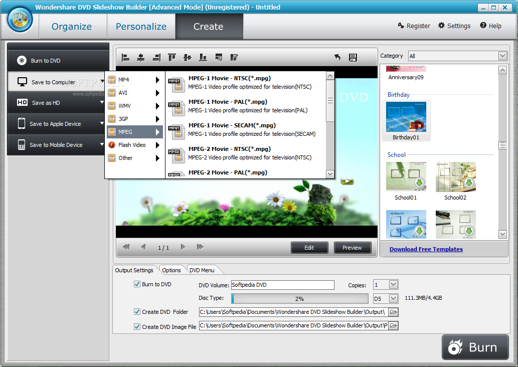 how to download kizoa slideshow for free