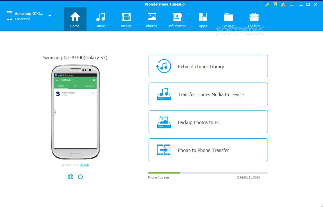 download tunesgo root android tool