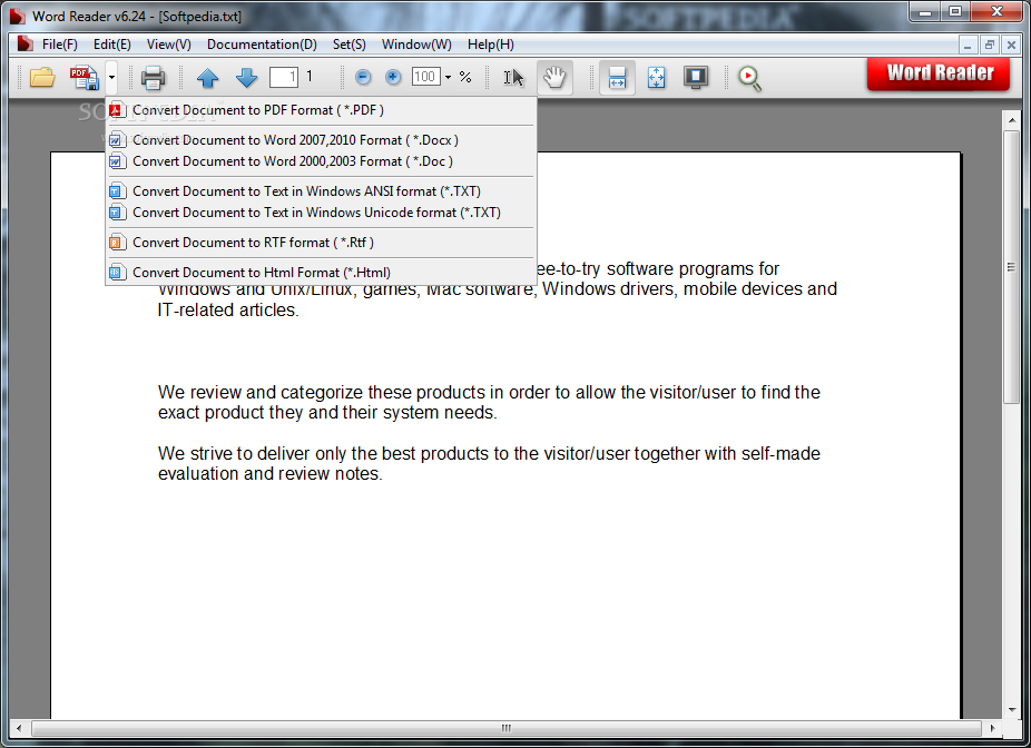 convert pdf to word using adobe reader