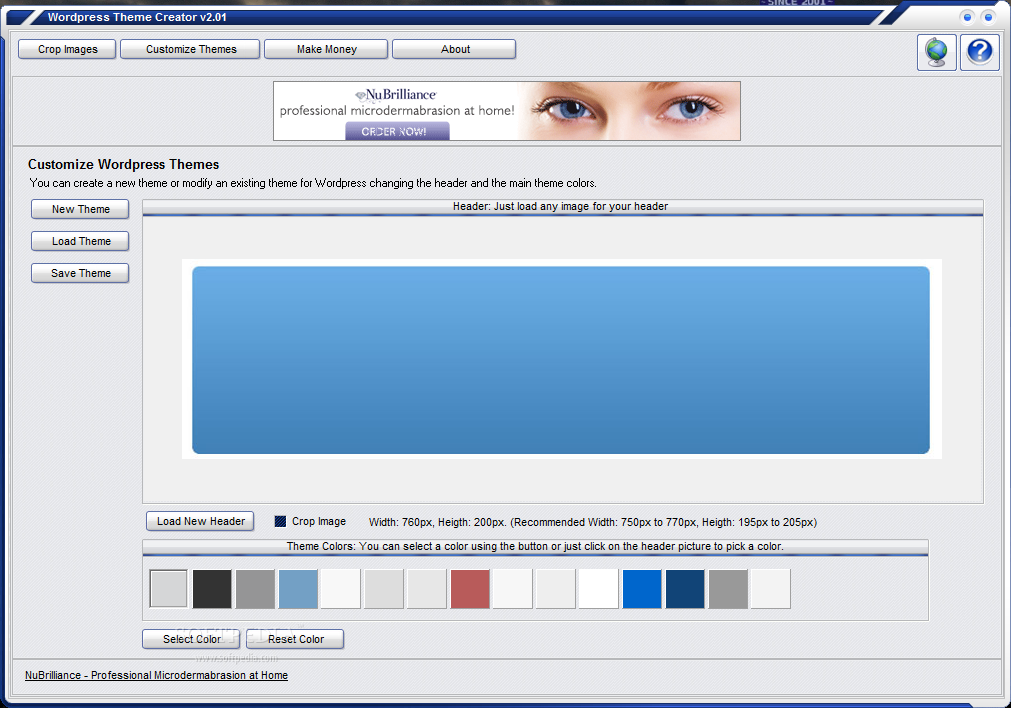 Download Wordpress Theme Creator 2.01