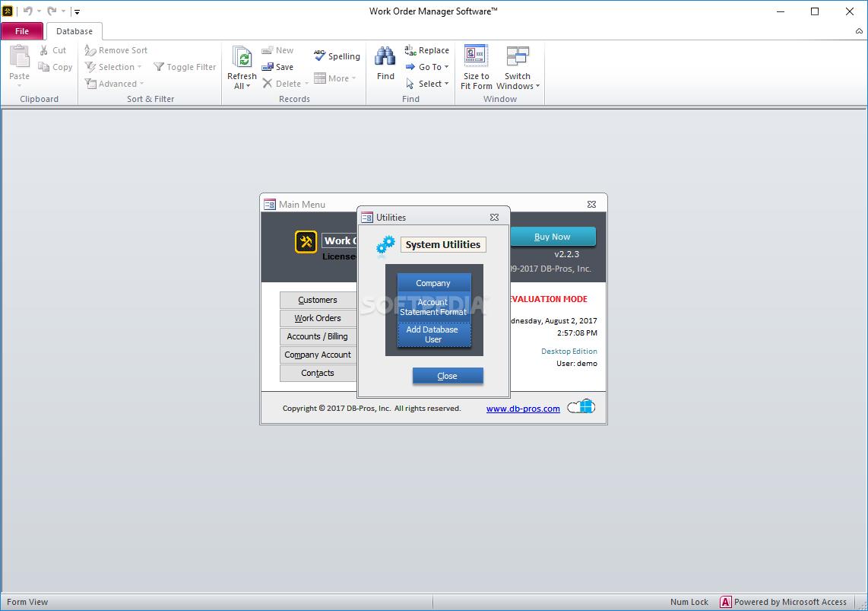 download work order manager software 2 4 0