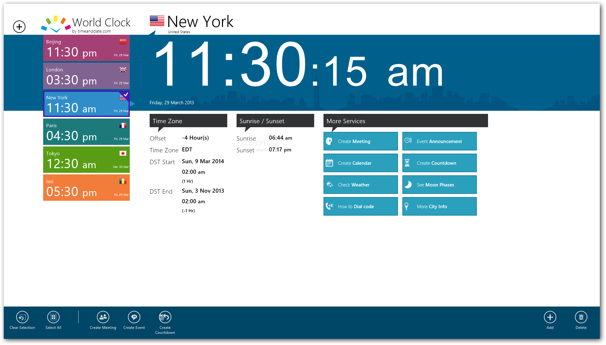 download world clock time zones for windows 10  8 1 2 0 11 45