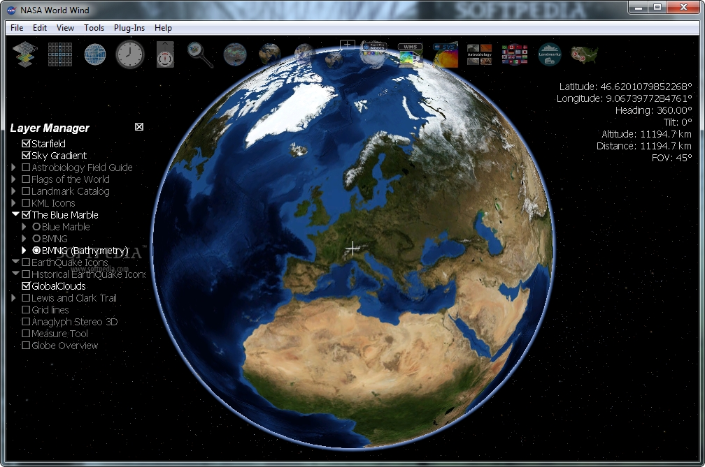 nasa world wind 1.4