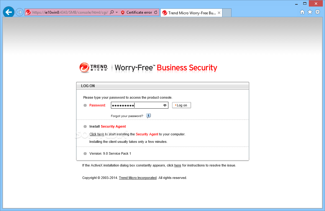 Download Trend Micro Worry Free Business Security 9 0