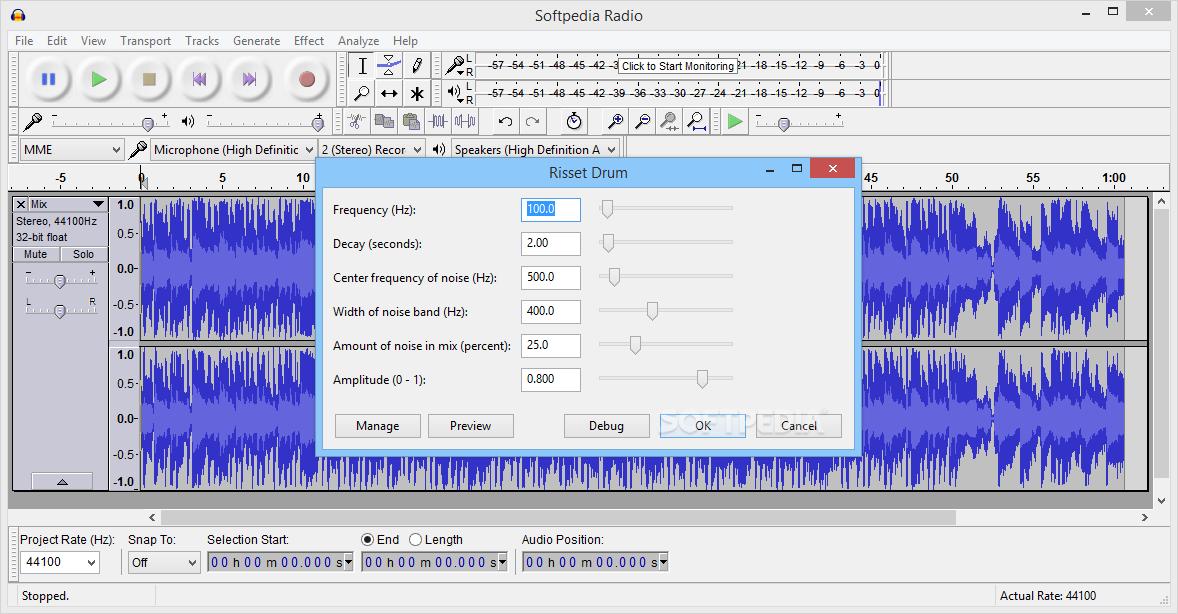 Download X-Audacity 2 3 2 [rev10]