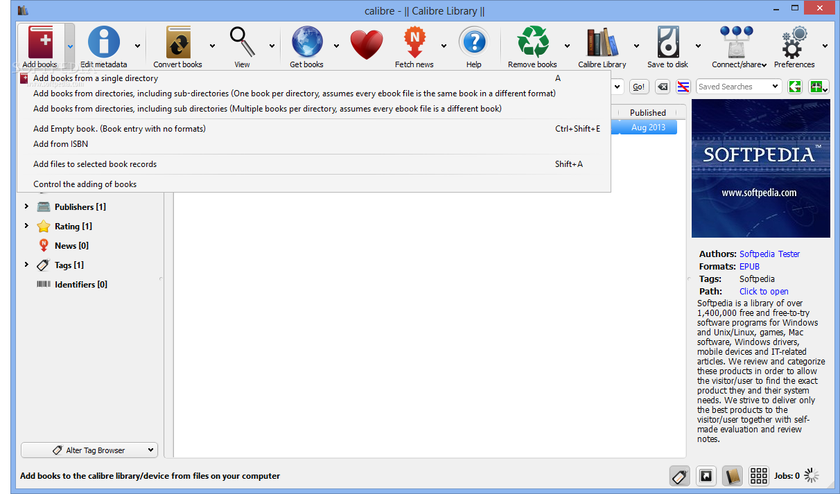 calibre software free download for windows 7