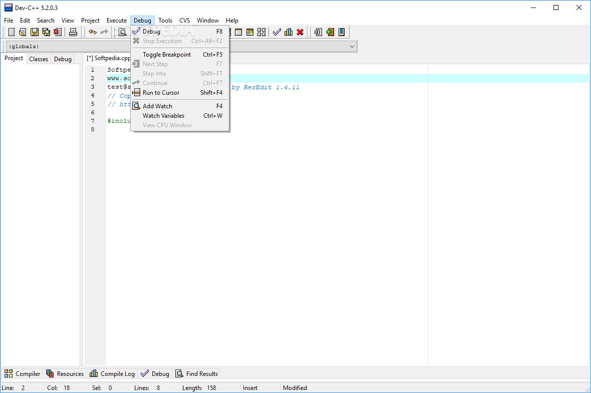 Download X-Dev-C++ 5 2 0 3 [rev5]