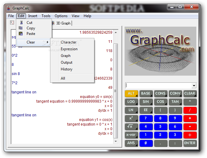 graphcalc pro