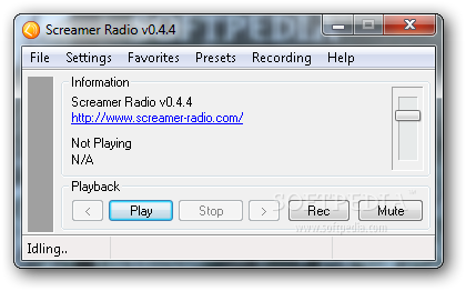 X Screamer Radio 1 - Download X-Screamer Radio for Windows