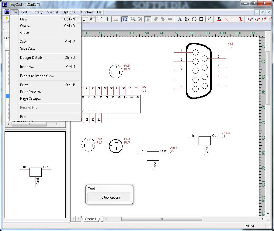 download x tinycad 2 80 03 build 514 rh softpedia com Open Source Schematic Capture TinyCAD Manual