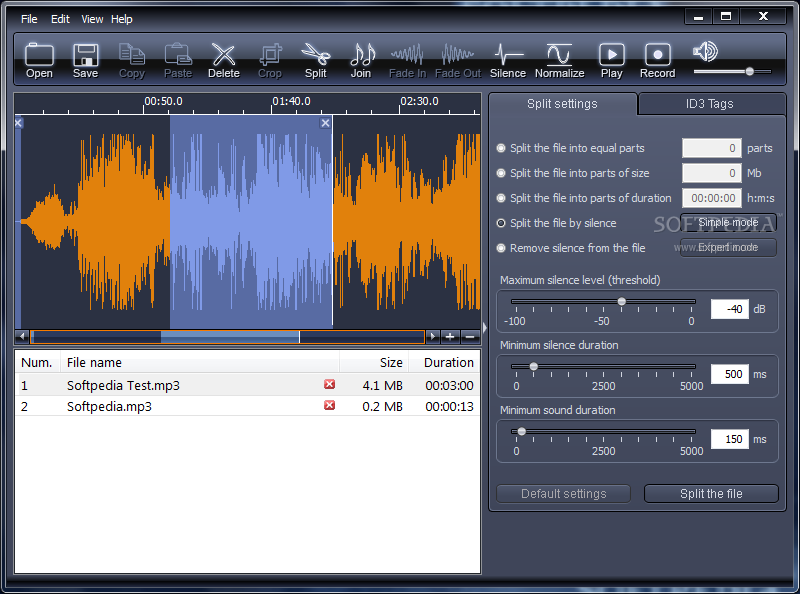 Download X-Wave MP3 Cutter Joiner 3.0