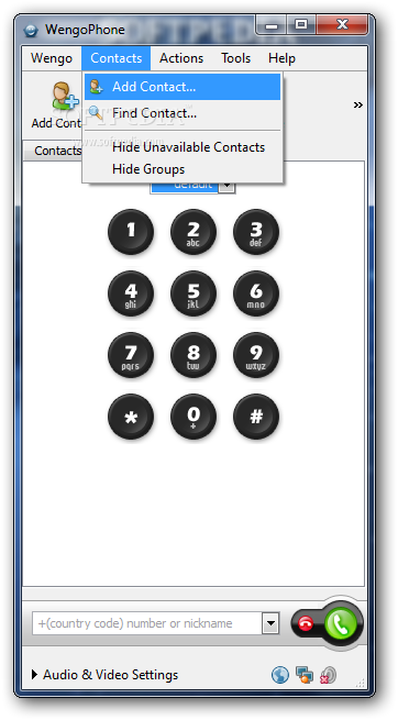 X WengoPhone 3 - Download X-WengoPhone for Windows
