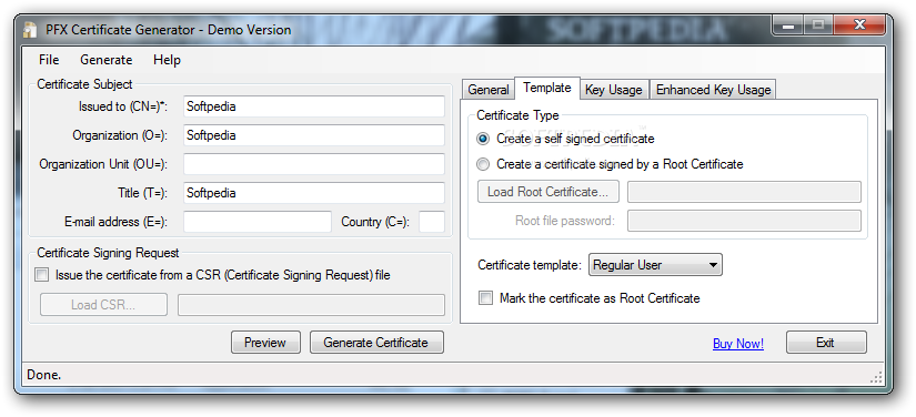 Download X509 Certificate Generator 35