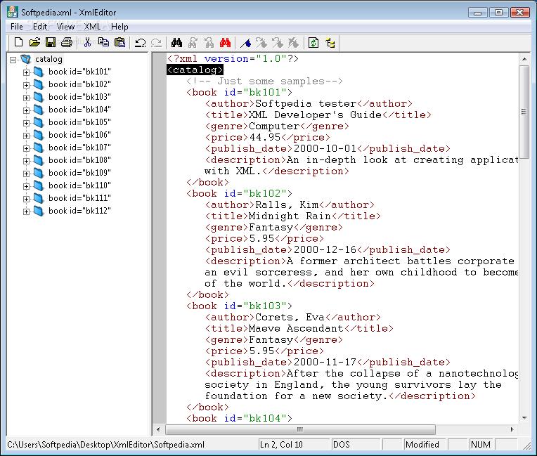 Download XML Editor 1 43