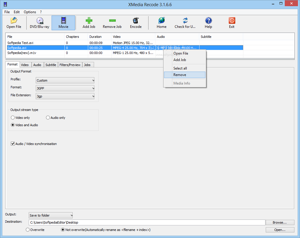 XMedia Recode 3.4.5.6